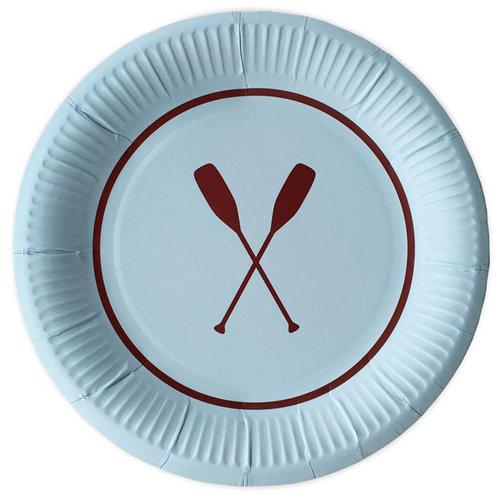 DELIGHT DEPARTMENT Pappteller Preppy Paddle 10Stk.