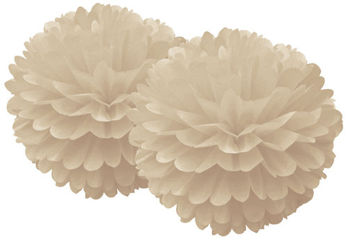 DELIGHT DEPARTMENT Pom Pom Set beige Preppy Paddle