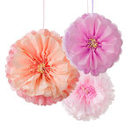 TALKING TABLES Blumen Pom Poms Set Decadent Decs 3Stk.