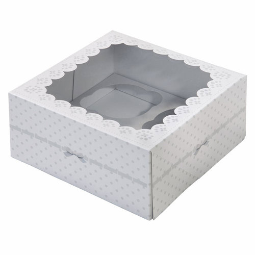 TALKING TABLES Cupcake Boxen Frills & Frosting 2 Stk