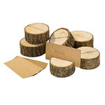 TALKING TABLES Kartenhalter aus Holz Blossom & Brogues 6 Stk.