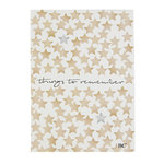 "BASTION COLLECTIONS  Notizbuch A5 ""things to remember"""