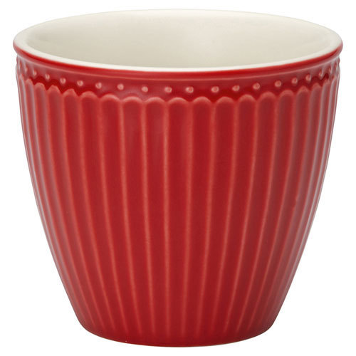 GREENGATE Latte Cup Becher Alice red