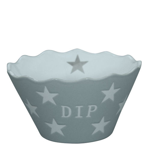 KRASILNIKOFF Dip Schale light grey star