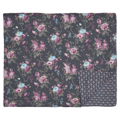 GREENGATE Quilt Maude dark grey 140x220