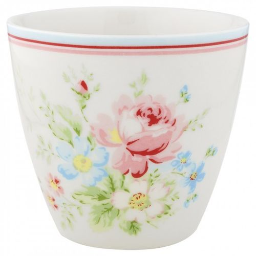 GREENGATE Latte Cup Becher Marie white