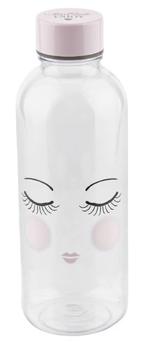 MISS ÉTOILE  Wasserflasche eyes closed H: 20,5 cm