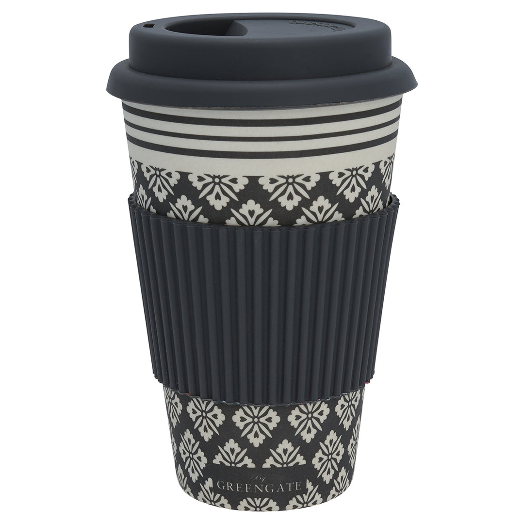 GREENGATE Travel mug  Jackie dark grey