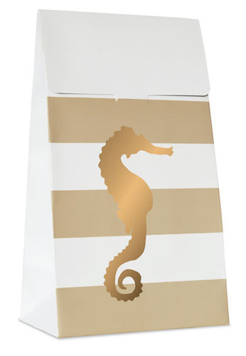 DELIGHT DEPARTMENT Geschenktüten Preppy Seahorse