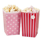 TALKING TABLES Pink N Mix Popcorn Tüten 8 Stk.