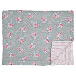 GREENGATE Quilt Marie grey 140x220cm