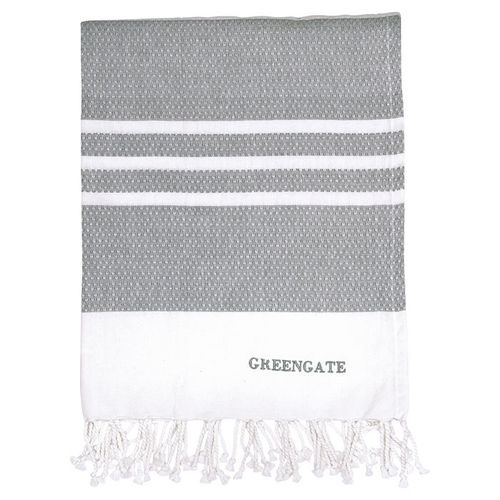 GREENGATE Tischdecke stripe grey 130x170 cm