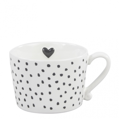 BASTION COLLECTIONS Tasse/Becher dots black