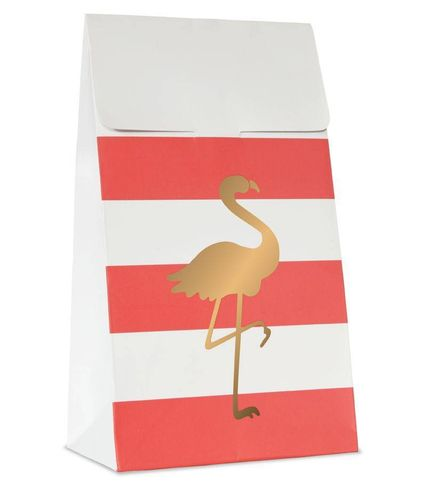 DELIGHT DEPARTMENT Geschenktüten Preppy Flamingo