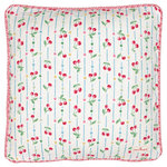 GREENGATE Kissenhülle Cherry white 40x40cm