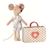 MAILEG Maus - Big Sister Mouse im Koffer