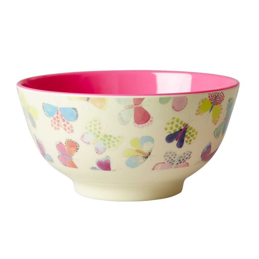 RICE Melamin Bowl / Schale  Butterfly  medium