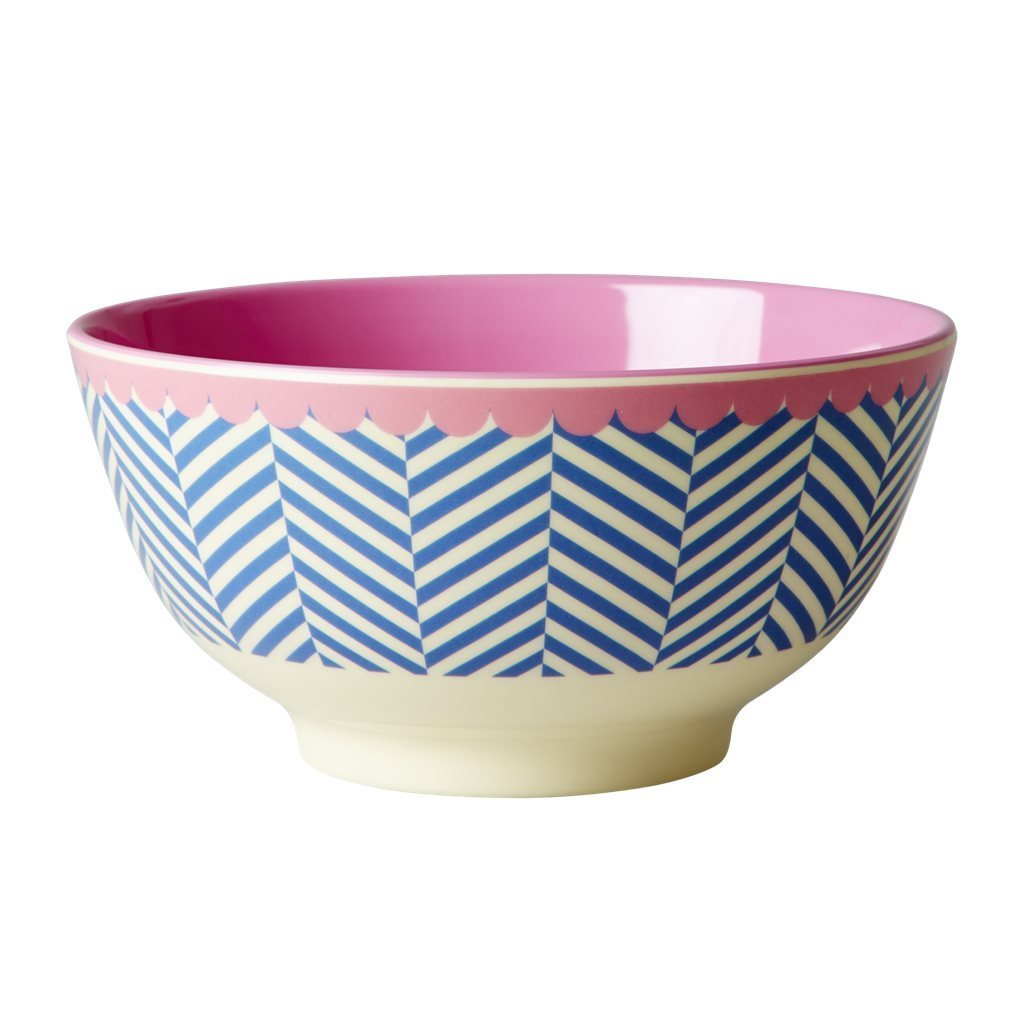 RICE Melamin Bowl / Schale  Sailor Stripe medium