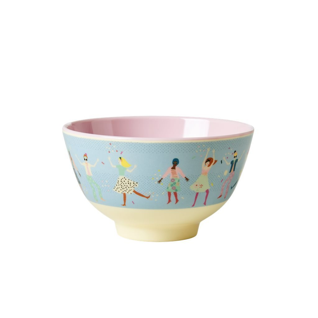 RICE Melamin Bowl / Schale Dancers  small