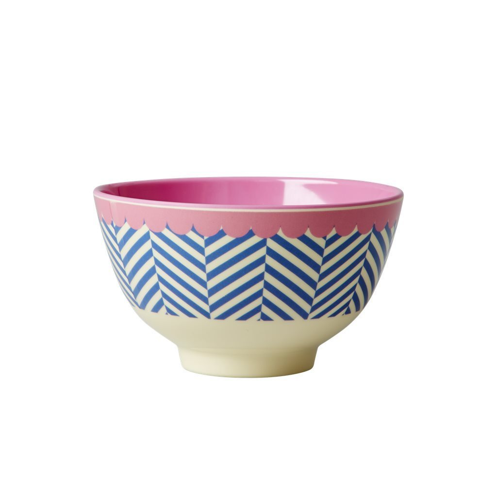 RICE Melamin Bowl / Schale Sailor Stripe  small