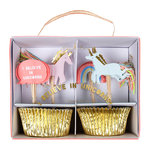 MERI MERI Cupcake Set I believe in unicorns