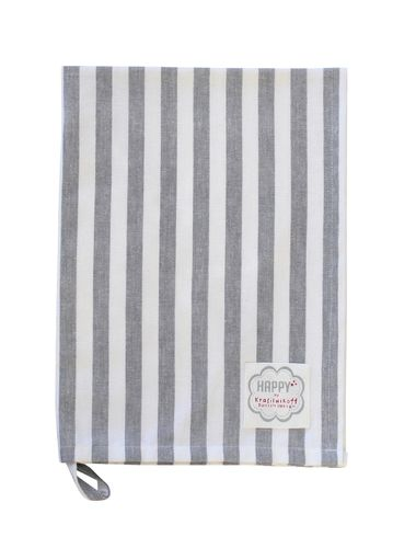 KRASILNIKOFF charcoal big stripes