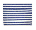 KRASILNIKOFF Platzset dark blue stripes, blau gestreift