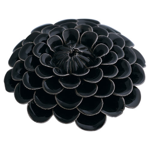 GATE NOIR by GREENGATE Flower / Blume Dekoration dark grey