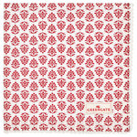 GREENGATE  Serviette  Ashley red mit Stickerei