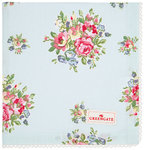 GREENGATE Serviette Franka pale blue mit Stickerei