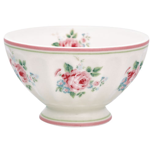 GREENGATE Schale French bowl medium Marley white