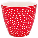 GREENGATE  Latte cup / Becher Dot red