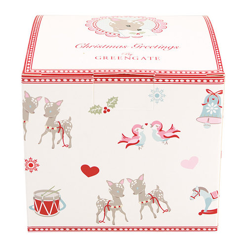 GREENGATE  Geschenkbox Bambi white small