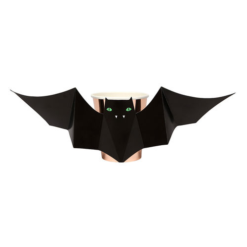 MERI MERI Pappbecher Fledermaus BAT Cups