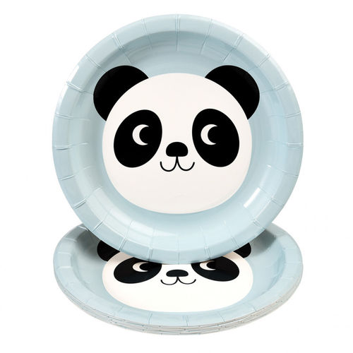 REX LONDON Pappteller Miko the Panda 8 Stk.