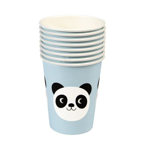 REX LONDON Pappbecher Miko the Panda 8 Stk.