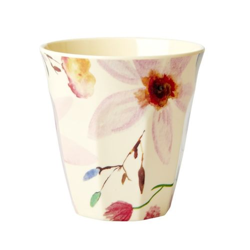 RICE Melamin Cup / Becher Selmas Flower medium