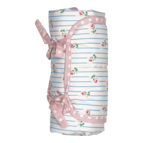GREENGATE Baby Wickelunterlage Matte Lily petit white