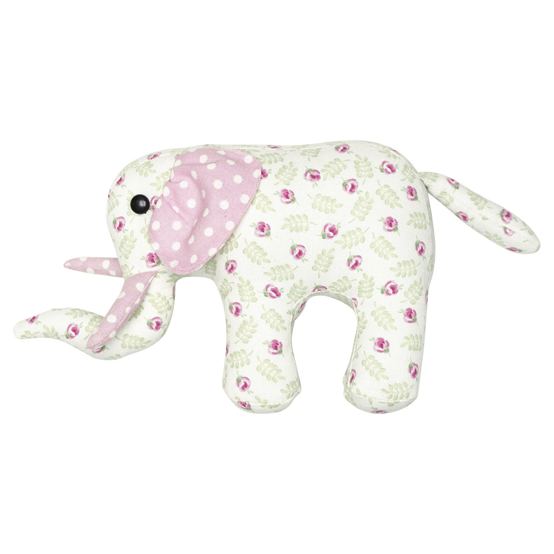 GREENGATE Teddy Elephant Lily petit white small
