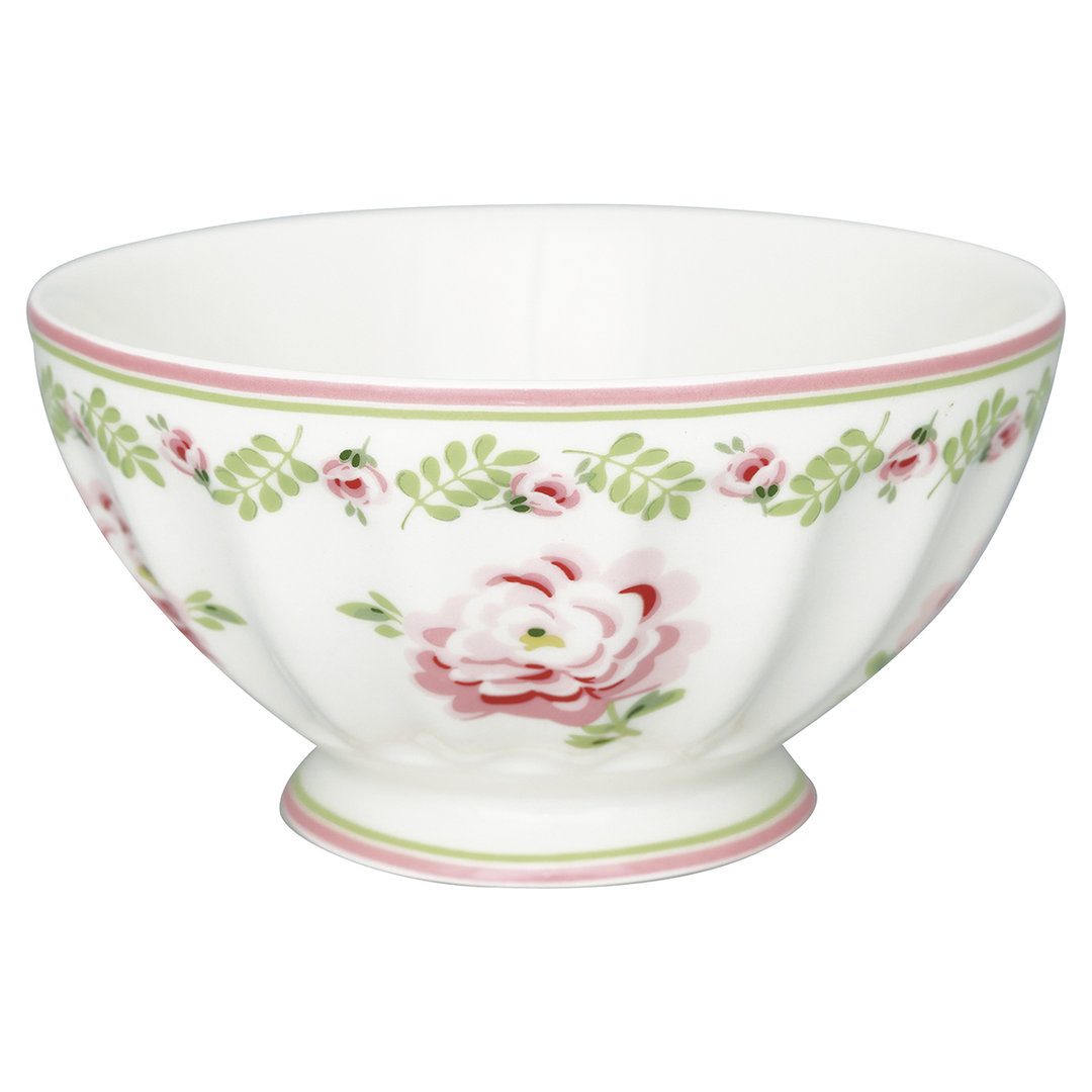 GREENGATE Schale French bowl xlarge Lily petit white