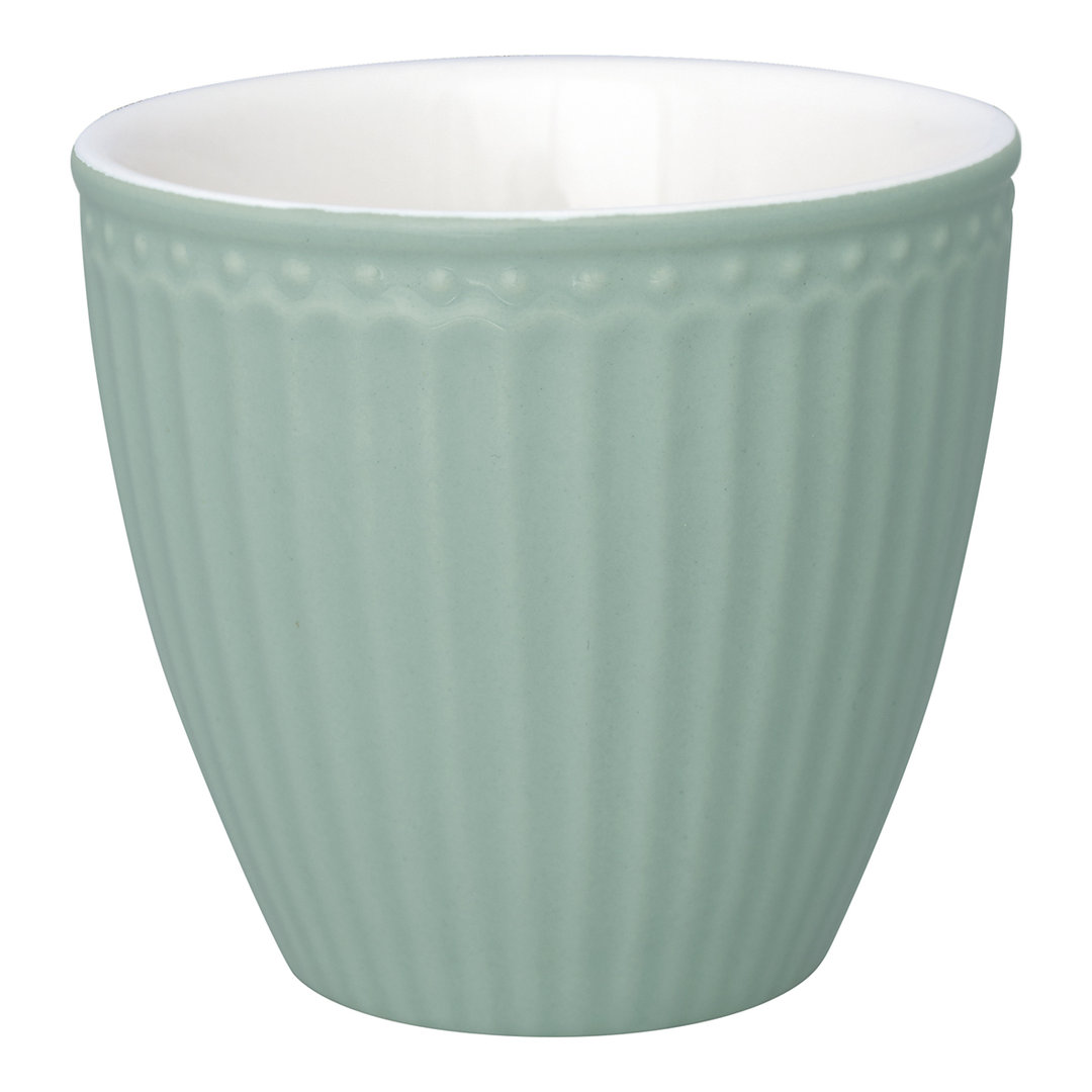 GREENGATE Becher/ Latte cup Alice dusty mint