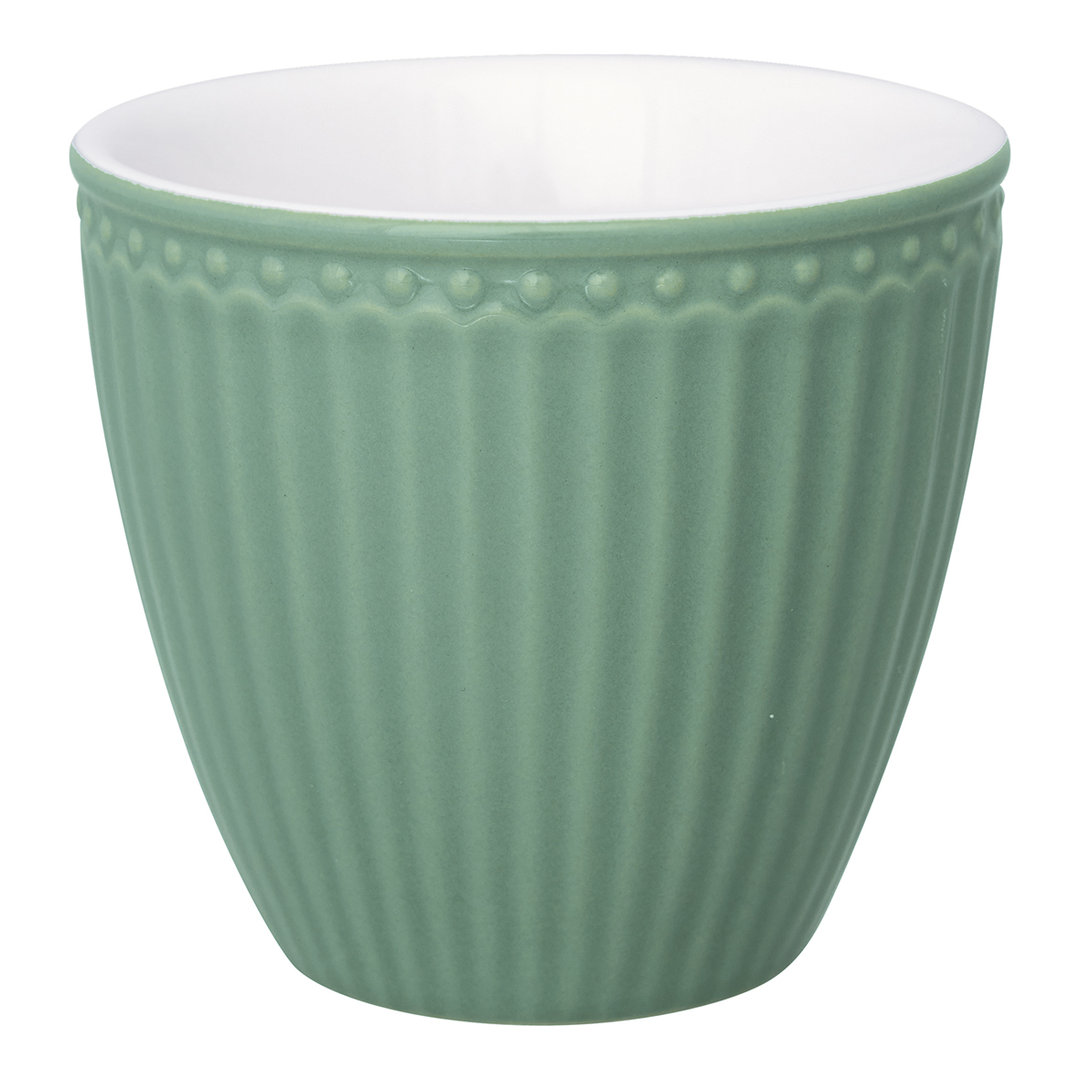 GREENGATE Becher/ Latte cup Alice dusty green