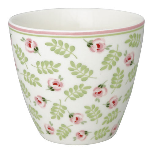 GREENGATE Latte cup / Becher Lily petit white