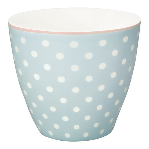 GREENGATE Latte cup / Becher Spot pale blue