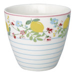 GREENGATE Latte cup / Becher Limona white