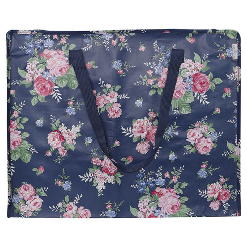 GREENGATE XXL Tasche Rose dark blue groß