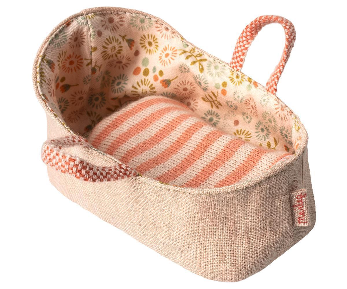 MAILEG Babykorb /Carry cot, My - rose