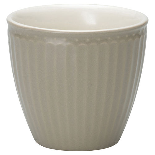 GREENGATE Latte Cup Becher Alice warm grey
