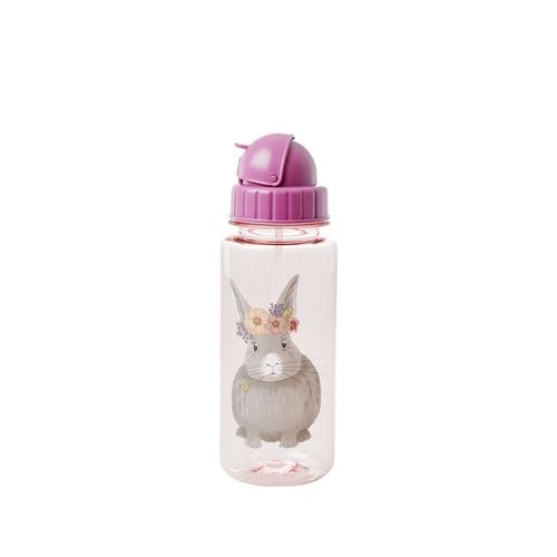 RICE Trinkflasche Farm Animal Print - Pink - 500 ml.