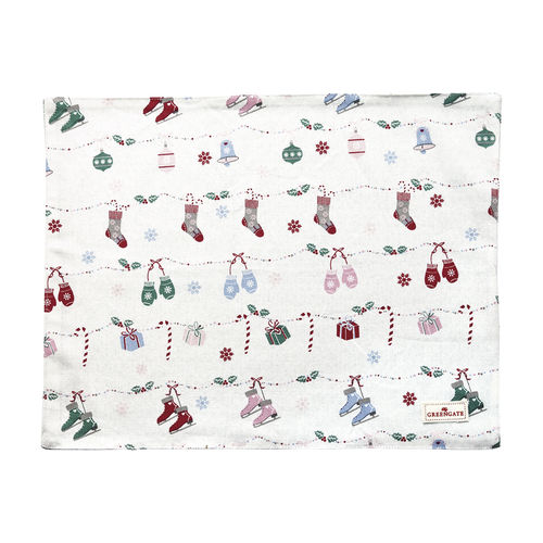 GREENGATE Platzset Jingle bell white